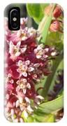 Blooming Milkweed Flowers IPhone Case