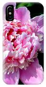 Blooming Peony IPhone Case