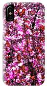 Blooming Pink IPhone Case