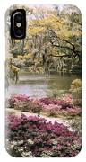 Blooming Shrubs And Trees IPhone Case