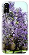 Blooming Tree With Purple Flowers IPhone Case