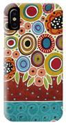 Blooms In Pot IPhone Case
