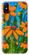 Blooms Of Orange IPhone Case