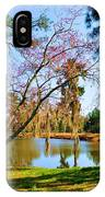 Blossoms And Spanish Moss IPhone Case
