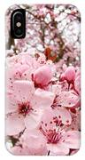 Blossoms Art Spring Pink Tree Blossom Floral Baslee Troutman IPhone Case