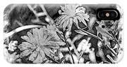 Zinnia Blossoms IPhone Case