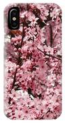 Blossoms Pink Tree Blossoms Giclee Prints Baslee Troutman IPhone Case