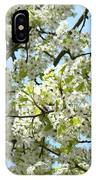 Blossoms Whtie Tree Blossoms 29 Nature Art Prints Spring Art IPhone Case