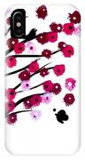 Blowing Blossoms IPhone Case