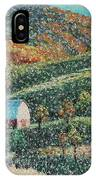Blowing Rock Impressionist IPhone Case