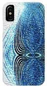 Blue Abstraction IPhone Case