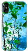 Nature's Gifts Of Blue And Green IPhone Case