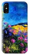 Blue And Pink Flowers IPhone Case