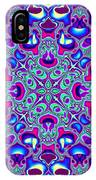 Blue And Pink Wallpaper Fractal 71 IPhone Case
