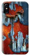 Blue And Rust IPhone X Case