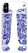 Blue And White Chinoiserie Vases IPhone Case