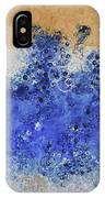 Blue Beach Bubbles IPhone Case
