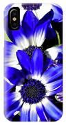 Blue Beauties IPhone Case