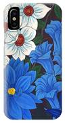 Blue Bell Flowers IPhone Case