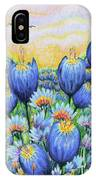 Blue Belles IPhone Case