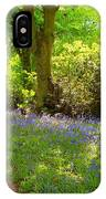 Blue Bells  Flower IPhone Case