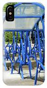 Blue Bicycle Berth IPhone Case