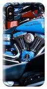 Blue Bike IPhone X Case