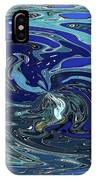 Blue Bird Abstract IPhone Case
