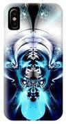 Blue Blazes IPhone Case