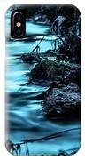 Blue Blur IPhone Case