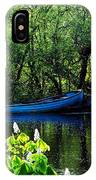 Blue Boat Cong Ireland IPhone Case