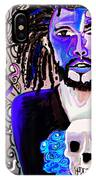 blue boy J cole IPhone Case