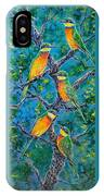 Blue Breasted Bee Eater IPhone Case