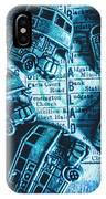 Blue Britain Bus Bill IPhone X Case
