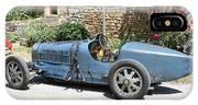 Blue Bugatti Oldtimer IPhone Case