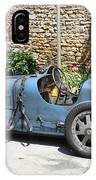 Blue Bugatti Oldtimer IPhone Case