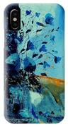 Blue Bunch 45 IPhone Case