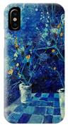 Blue Bunch IPhone Case