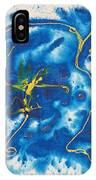Blue Bunny IPhone Case
