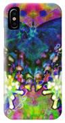 Blue Butterfly Pop IPhone Case