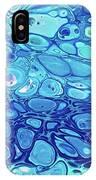 Blue Cells IPhone Case