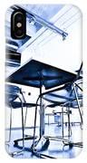 Blue Chair IPhone Case