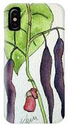 Blue Coco Beans IPhone Case