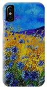 Blue Cornflowers IPhone Case
