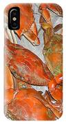 Blue Crabs IPhone Case