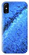 Blue Curves IPhone Case by Todd Blanchard