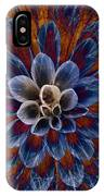 Blue Dahlia IPhone Case