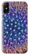 Blue Dandelion IPhone Case