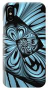 Blue Deep Hole IPhone Case by Donna Bentley