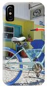 Blue Dog Matlacha Island Florida IPhone Case